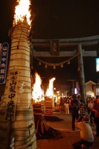 吉田の火祭り ちいさく